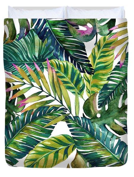 Tropical  Duvet Cover by Mark Ashkenazi