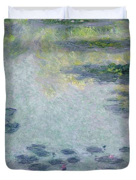 Waterlilies Duvet Cover by Claude Monet
