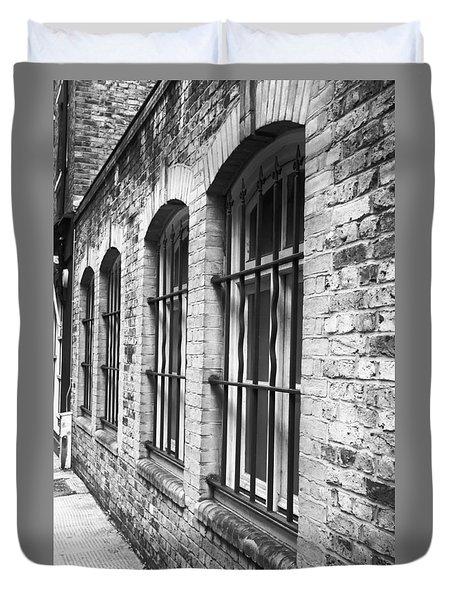 Window Bars Duvet Cover by Tom Gowanlock