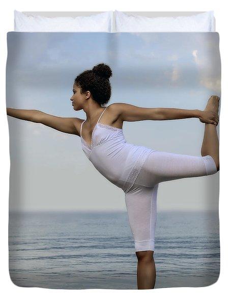 Yoga Duvet Cover by Joana Kruse