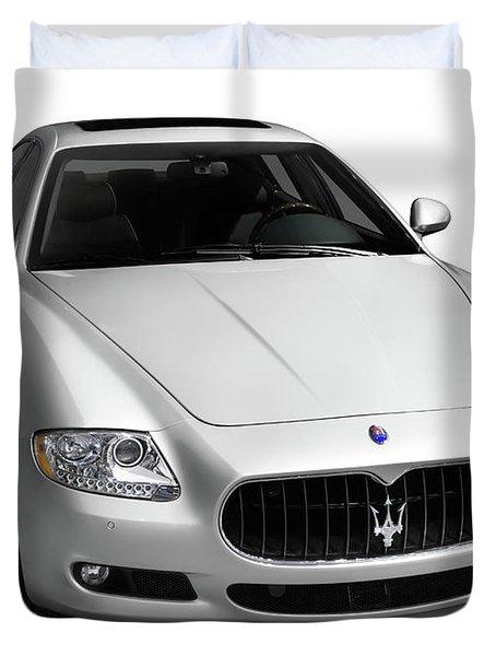 2009 Maserati Quattroporte S Duvet Cover by Oleksiy Maksymenko