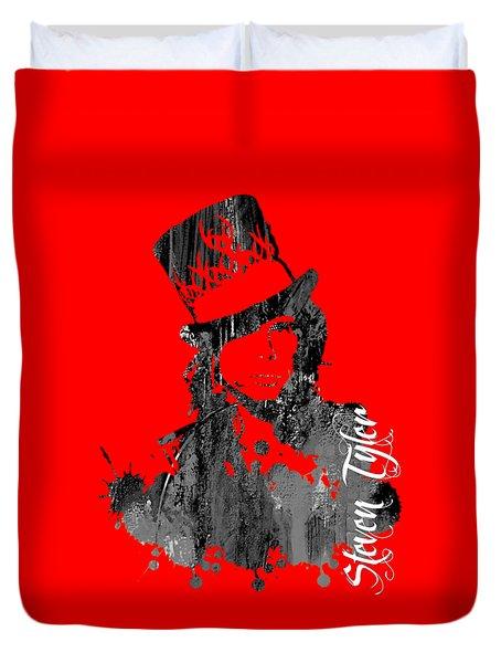 Steven Tyler Collection Duvet Cover by Marvin Blaine