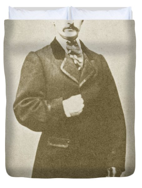 John Wilkes Booth, American Assassin Duvet Cover by Photo Researchers