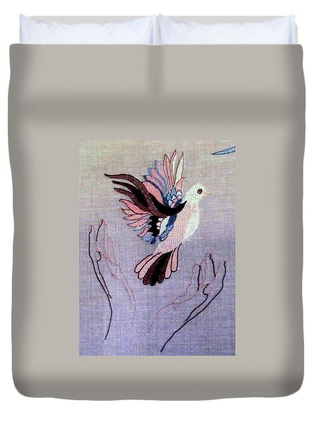 Needle Craft Duvet Cover by Joyce Woodhouse