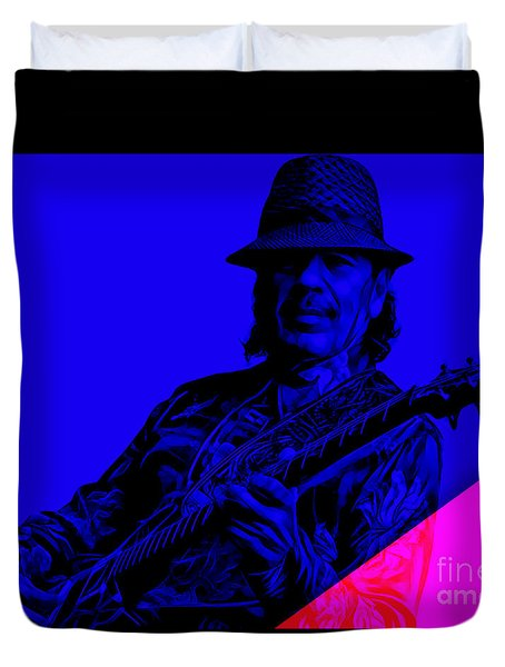 Santana Duvet Cover by Marvin Blaine