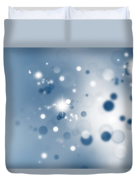 Starry Background Duvet Cover by Les Cunliffe