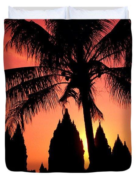 Java, Prambanan Duvet Cover by Gloria & Richard Maschmeyer - Printscapes
