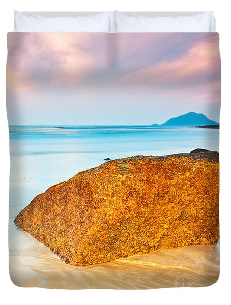 Sunrise Duvet Cover by MotHaiBaPhoto Prints