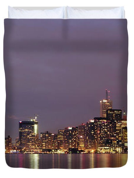 The City Of Toronto Duvet Cover by Oleksiy Maksymenko