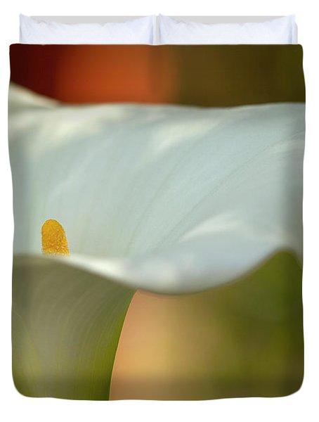 White Calla Duvet Cover by Heiko Koehrer-Wagner