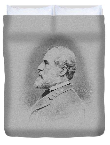 General Robert E Lee Duvet Cover by War Is Hell Store