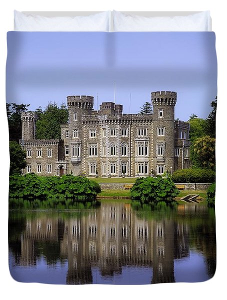 Johnstown Castle, Co Wexford, Ireland Duvet Cover by The Irish Image Collection