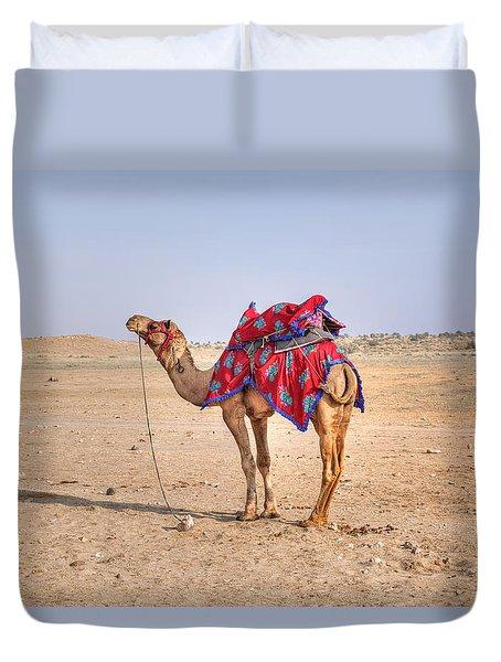 Thar Desert - India Duvet Cover by Joana Kruse
