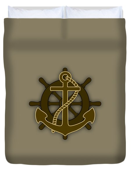 Nautical Collection Duvet Cover by Marvin Blaine