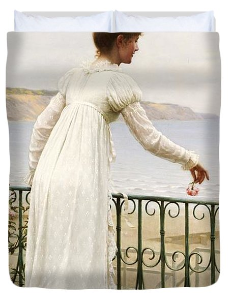 A Favour Duvet Cover by Edmund Blair Leighton