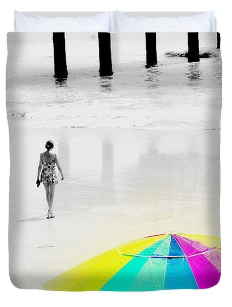 A Hot Summer Day Duvet Cover by Susanne Van Hulst