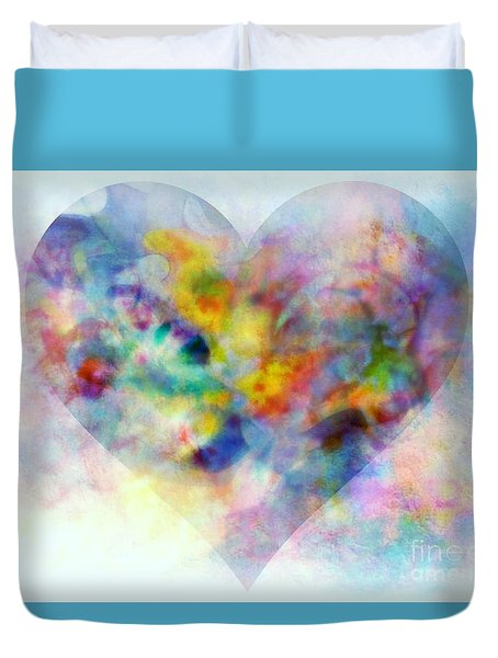 A Love Remembered Duvet Cover by Wbk