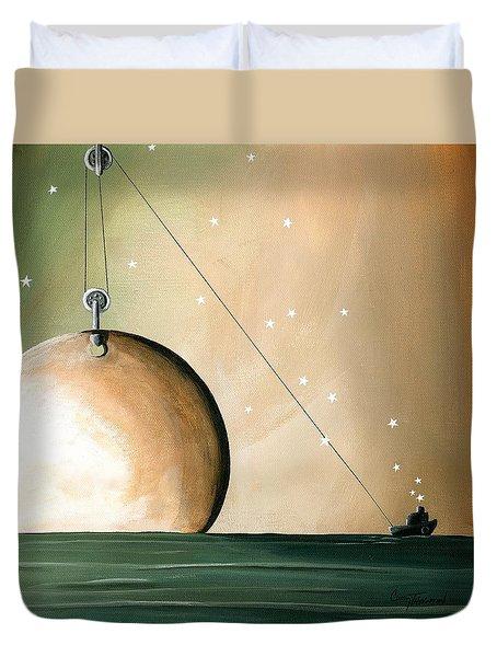 A Solar System Duvet Cover by Cindy Thornton