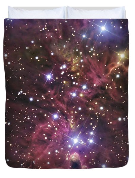 A Stellar Nursery Located Towards Duvet Cover by R Jay GaBany