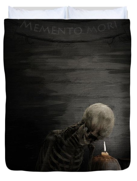 A Time To Remember Duvet Cover by Lourry Legarde