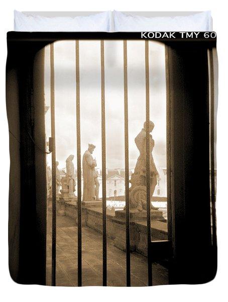 A Walk Through Paris 9 Duvet Cover by Mike McGlothlen
