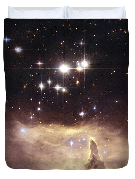 Above the Heavens Duvet Cover by Michael Peychich