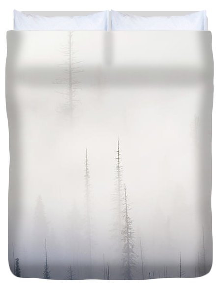 Above Them All Duvet Cover by Mike  Dawson