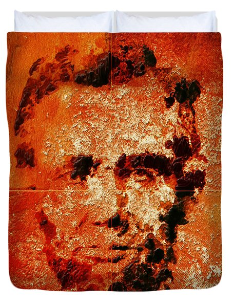 Abraham Lincoln 4d Duvet Cover by Brian Reaves