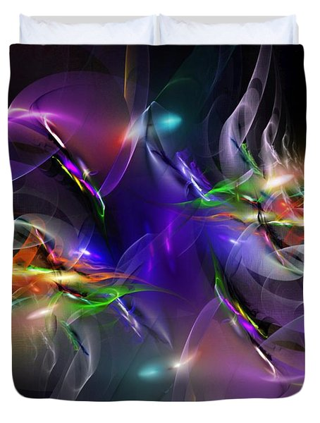 Abstract 112211 Duvet Cover by David Lane
