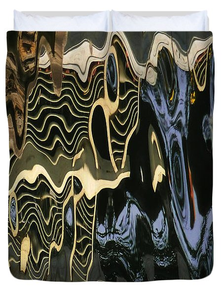 Abstract 13 Duvet Cover by Xueling Zou