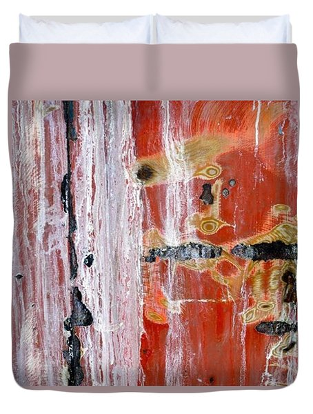 Abstract By Edward M. Fielding - Duvet Cover by Edward Fielding