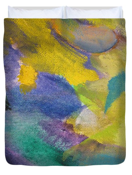 Abstract close up 13 Duvet Cover by Anita Burgermeister