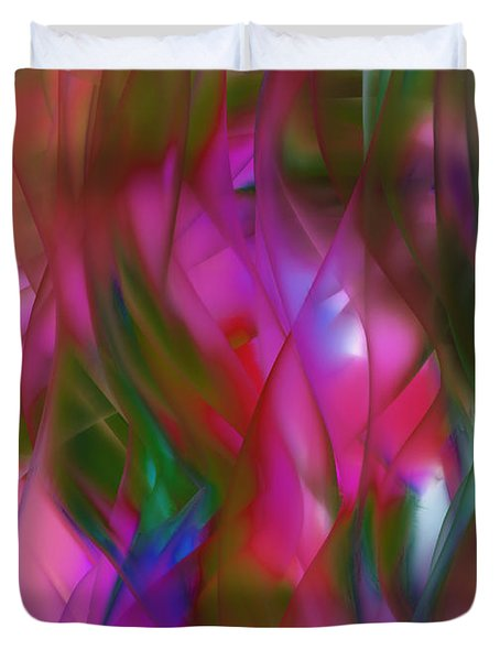 Abstract Dreams Duvet Cover by Gina Lee Manley