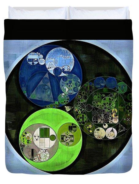 Abstract Painting - Asparagus Duvet Cover by Vitaliy Gladkiy
