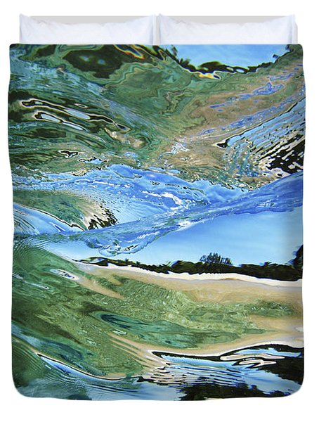 Abstract Underwater 4 Duvet Cover by Vince Cavataio - Printscapes