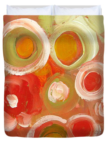 Abstract VIII Duvet Cover by Patricia Awapara