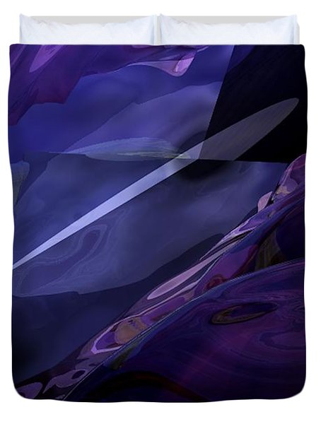 Abstractbr6-1 Duvet Cover by David Lane