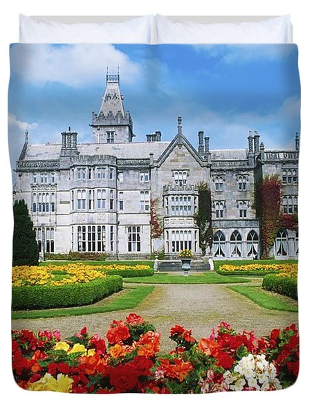 Adare Manor Golf Club, Co Limerick Duvet Cover by The Irish Image Collection