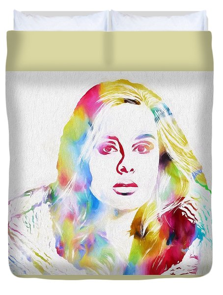 Adele Duvet Cover by Dan Sproul