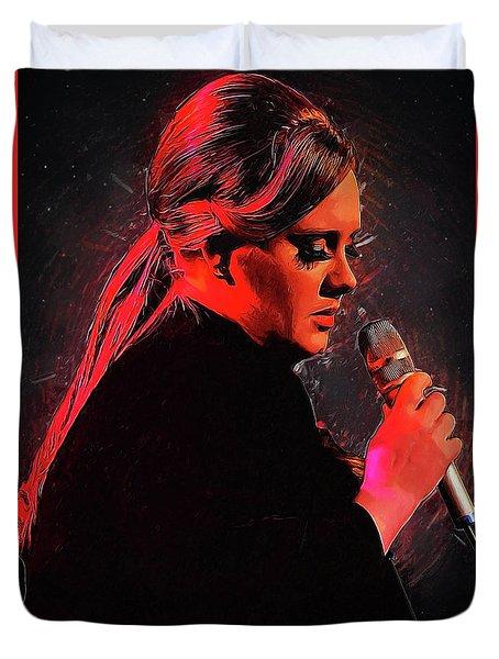 Adele Duvet Cover by Semih Yurdabak