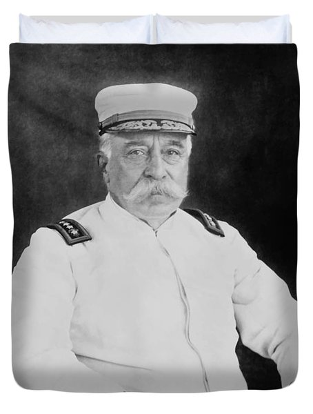 Admiral George Dewey Duvet Cover by War Is Hell Store