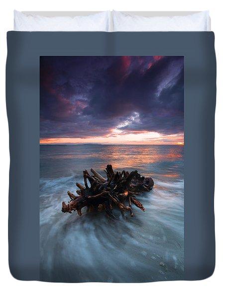 Adrift Duvet Cover by Mike  Dawson