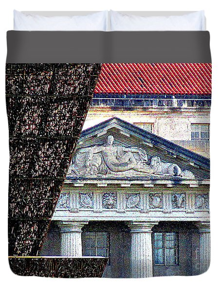 African American History And Culture 5 Duvet Cover by Randall Weidner