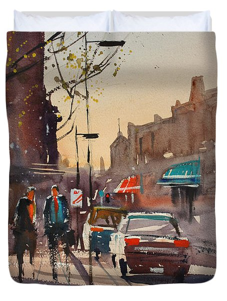 Afternoon Light Duvet Cover by Ryan Radke