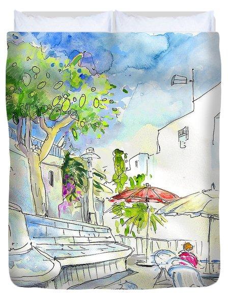 Agua Amarga 10 Duvet Cover by Miki De Goodaboom