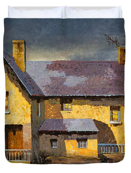 Al Mattino Duvet Cover by Guido Borelli