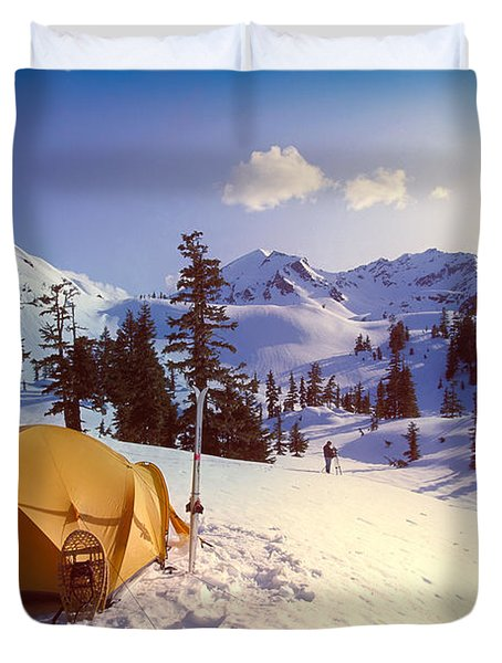Alaska, Admiralty Island Duvet Cover by John Hyde - Printscapes