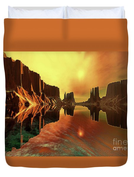 Alchemy Duvet Cover by Corey Ford