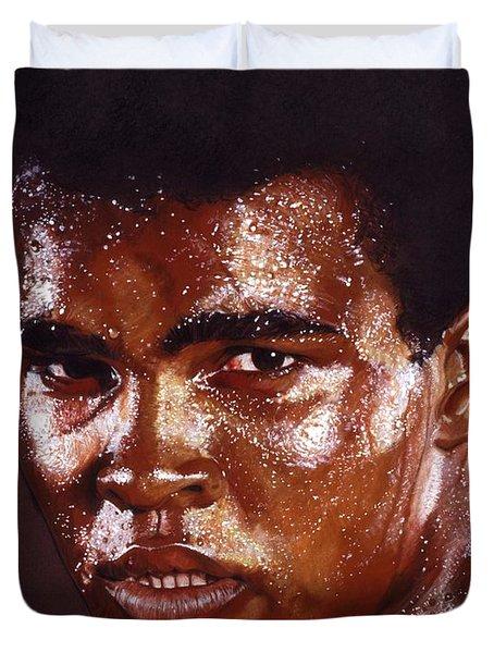 Ali Duvet Cover by Tim  Scoggins