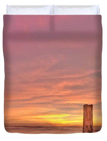 All Aglow Duvet Cover by Evelina Kremsdorf